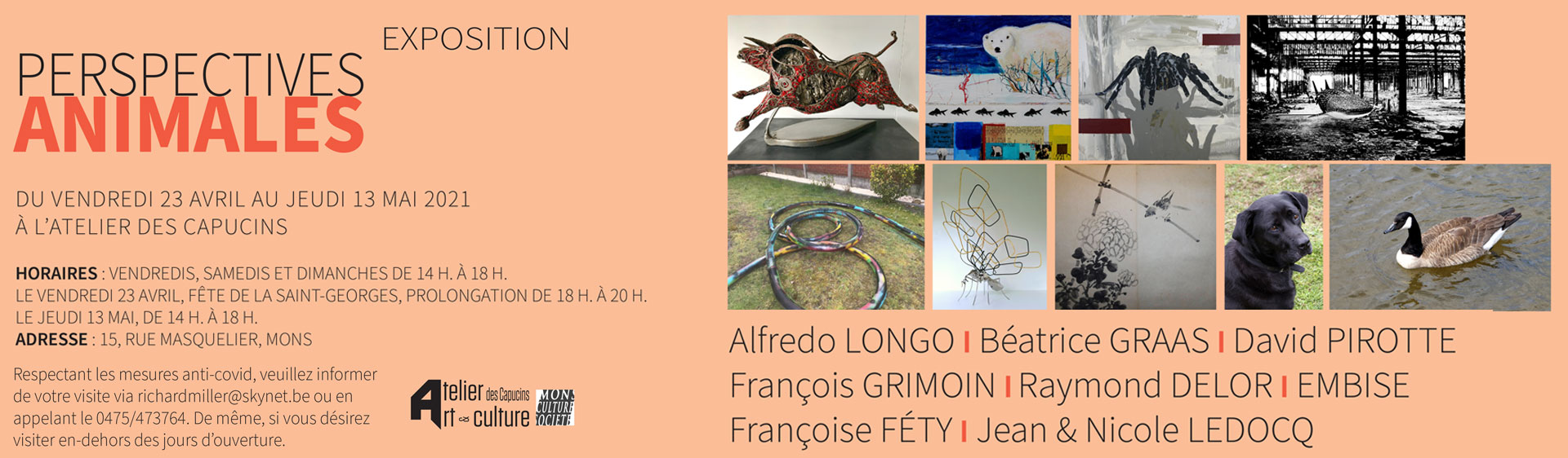 Exposition Perspectives animales